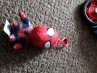 Spiderman key ring