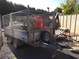 October 2015 Ifor Williams 10x5 with mesh cages and Ramps NO VAT