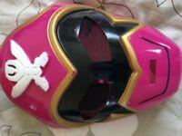 Pink power ranger dress up 7-8 yrs