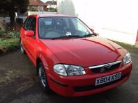 Mazda 323f low milage long MOT 2000 reg 2 owners from new