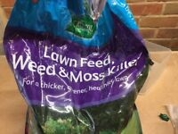 Lawn Feed, Weed and Moss Killer
