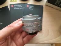 Leica Summicron 35mm f2 ASPH