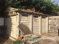 Pre-fab concrete garage