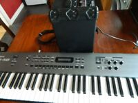 Roland RS 50 keyboard Roland Cube 15xl