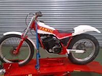 Fantic 241 Air cooled mono trials bike
