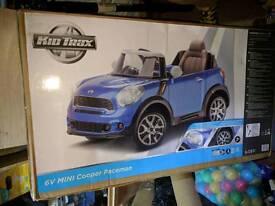 Mini Cooper BRAND NEW IN BOX 6V Kids Electric Ride On Car