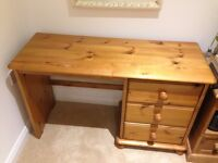 Wooden dressing table could shabby chic