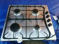 Build in worktop gas cooker.