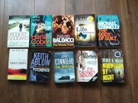Crime Fiction Paperback Books x 30