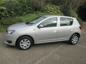 sept 2013 dacia 1.2 laureate.1 owner only 34000 miles.6 months warranty
