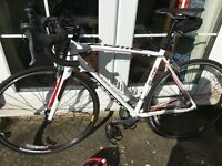 Specialized Allez Elite 2013/14 road bike (including accessories)