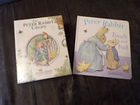 BRAND NEW Peter Rabbit Book Collection and Touchy Feely Book