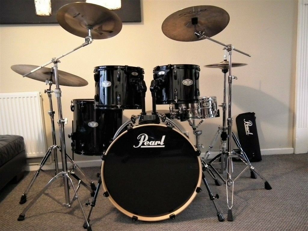 pearl vision 5 piece drumkit in lisburn county antrim gumtree. Black Bedroom Furniture Sets. Home Design Ideas