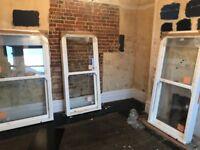 3 x UPVC SLIDING SASH WINDOWS - BRAND NEW - double glazed - £450 ono