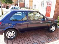 Ford Fiesta with low mileage for year and alloy wheels £285 ONO