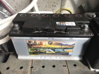 Brand new 110 amp hour deep cycle Leisure battery, gel filled & sealed.