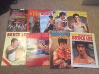 Selection of Cintage Bruce Lee and Martial Arts Magazines