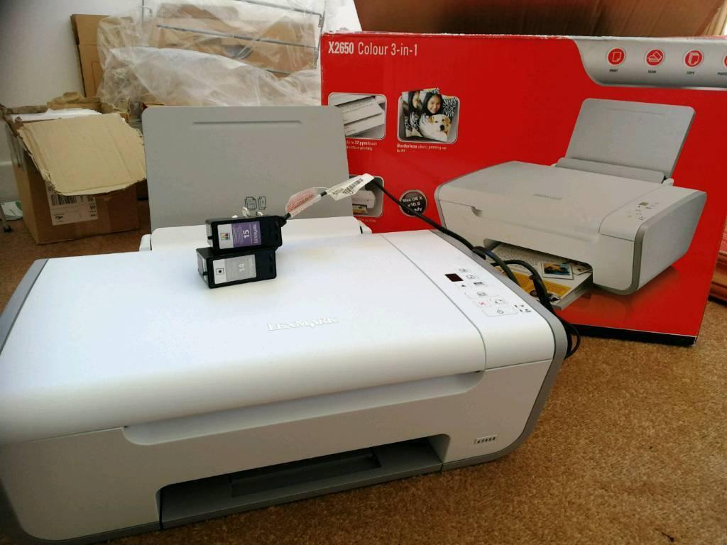 Lexmark printer scanner