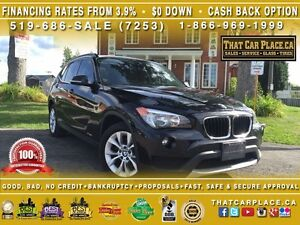 2013 BMW X1 28i-$87/Wk-TurboCharged-Bluetooth-HtdLthrSts-AUX