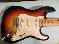 Custom (brand) Strat Copy Electric Guitar, Maxon Pickups