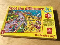 Spot the difference jigsaw