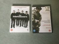 DVDS FOR SALE. UNOPENED X2