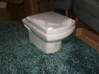 Tavistock Vibe Wall Hung Toilet with Soft Close Seat