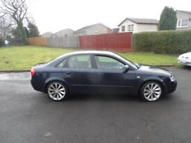 AUDI A4 SE 1.9 TDI 130 AUTO 03 PLATE 2003 MOT END APRIL 2018