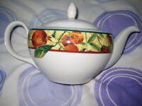Brand New Royal Doulton; Doulton Everyday Augustine Fine China Teapot - TC 1196