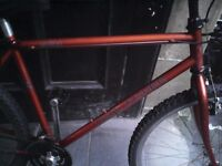GARY FISHER ,MENS MOUNTAIN BIKE,18 INCH FRAME,26 INCH WHEELS,18 SPEED GEARS,GOOD TYRES