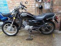 A J S Motorcycle 125 cc -2014 for sale  Kilburn, London