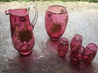 Rose glass set