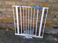 Stair Safety Gate lindam Baby Toddler Metal Pressure Fit #FREE LOCAL DELIVERY#