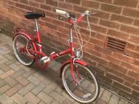 Vintage bsa folding bike