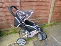 Silver Cross Toy Stroller / Doll's Pram / Pushchair