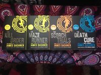 The complete maze runner series