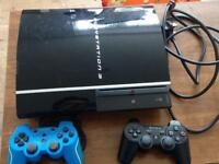 PS3 2 controllers and 10 games