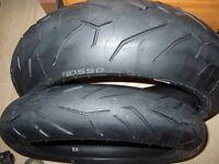 Pair brand new Pirelli Diablo rosso 11 tyres 120/70/ZR17 & 190/55/ZR17