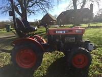 Kubota compact tractor