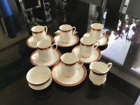 Royal Albert bone China coffee set