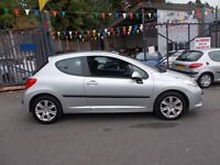 Peugeot 207 1.6 HDi Sport 3dr LADY OWNED PAN ROOF 06/56