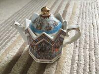 Spanish Armada vintage teapot