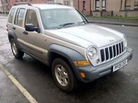 jeep cherokee crd sport automatic turbo diesel 2005