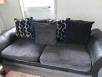 Large Sofa & Cuddle Chair
