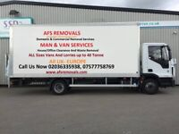 Urgent Removal Service Office Furniture Move House Clearance Man Van Hire Waste Collection UK Europe