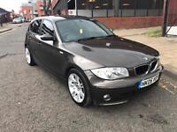 BMW 120d 05 PLATE 6 SPEED MANUAL LONG MOT EXCELLENT RUNNER £1995