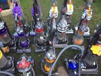 Job lot of 21 Dyson vacuum cleaners