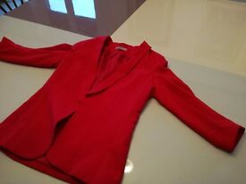 Red blazer for all occasions