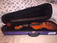 1/4 Size Violin inc. Bow, Rosin and Case **GREAT CONDITION**