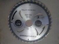 "craftRight 6 Pieces Wood Saw Blade 184mm 7-1/4"" Tungsten Carbide Circular Saw"